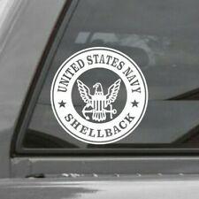 UNITED STATES NAVY SHELLBACK ROUNDEL Vinyl Window Decal Sticker