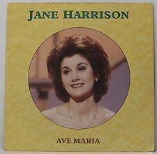 "JANE HARRISON : AVE MARIA 7"" Vinyl Single 45rpm Picture Sleeve VG"