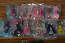 McDonalds Barbie Doll Toys. In Package. Lot of 10. Never Used!