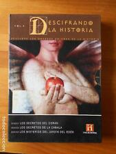 DVD DESCIFRANDO LA HISTORIA VOL. 4 - 3 DVD'S -CANAL HISTORIA - LEER DESCRIPCION