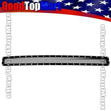 For Toyota Tacoma 2005-2011 Black Mesh Rivets Lower Bumper Grille Bolt-On 1pc