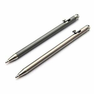 Mini Titanium Portable Personality Creative Signature Pen Practical Ballpoint