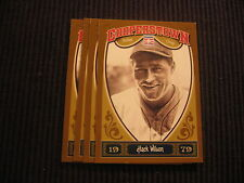 2013 PANINI COOPERSTOWN CHICAGO CUBS TEAM SET 4 CARDS  HACK WILSON +
