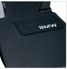BMW E90 3 Series Sedan Black Carpet Floor Mat Set 2007-2011 Genuine OEM
