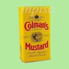 COLMAN'S 1 Tin x 16oz ENGLISH MUSTARD POWDER ORIGINAL IMPORTED From UK