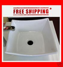 Italian Design Small Single Bathroom Ceramic Vessel Sink Basin - BSC209