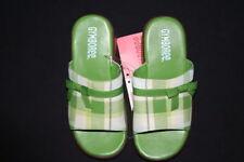 NWT Gymboree Dandelion Wishes Shoes Sandals Green Plaid 10