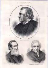 1872 Rev Dr Norman Macleod W Ellis Missionary Dr Jeremie Dean  Lincoln