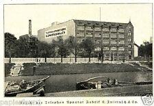 Telephon Apparat Fabrik Zwietusch Reklame 1918 Charlottenburg Telefon Werbung Ad