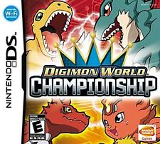 Digimon World Championship (Nintendo DS, 2008) GAME ONLY, TESTED USA SELLER