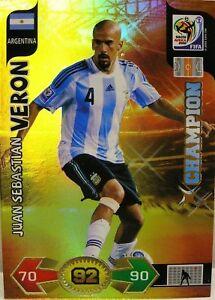 Panini Adrenalyn XL WM 2010 Juan Sebastian Veron Champ