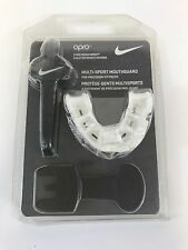 NEW Youth Nike Multi-Sport Mouthguard Unisex Size Medium Opro Red & White Bin 1