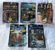 Lot Of 5 Factory Sealed Playmates Toys Star Trek Action Figures Kids Toy Plastic