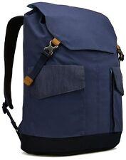"""Case Logic Lodo 15.6"""" Laptop Rucksack Large LODP-115 DRESS BLUE"""