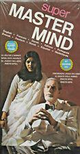 Vintage Super Master Mind Game 1975 Invicta Plastics New Still Factory Sealed