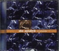 Fabrizio De Andre' - De Andre' In Concerto Cd Perfetto