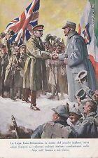 # MILITARI WWI - LA LEGA ITALO - BRITANNICA - 1917