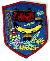 Coffs Harbour The Big Banana Woven Vintage Sew On Australia Travel Badge Patch