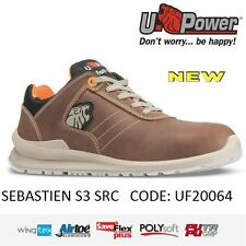 UPOWER Scarpa lavoro Antinfortunistica SEBASTIEN S3 SRC U-POWER UF20064