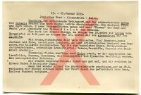KREUZER KÖLN - orig. Foto, Reiseverlauf, Januar 1933, Auslandsreise 1932/33.