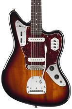 Fender Squier Vintage Modified Jaguar Electric Guitar, 3-Tone Sunburst (NEW)