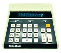 Radio Shack Vintage Electronic Calculator EC2001 Works With Battery AC Adapter