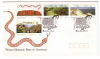 "1993 FDC. Australia. World Heritage Sites. PictPMK ""CANBERRA"""