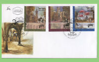 Israel 2000 Christian Pilgrimage sites set on First Day Cover