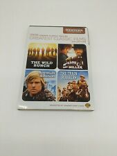 THE WILD BUNCH/MCCABE MRS MILLER/JEREMIAH JOHNSON/TRIN ROBBERS TCM Weesterns DVD