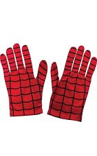 Rubie's Official Kiid's Spiderman Gloves Costume - One Size, Red