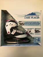 Lake Placid Adjustable Ice Skates Size 1-4
