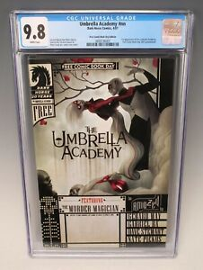 Umbrella Academy #nn CGC 9.8 (Dark Horse, 2007) Free Comic Book Day Edition Prom