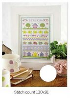 SPRING SAMPLER      -    CROSS  STITCH   PATTERN  ONLY   R80M2