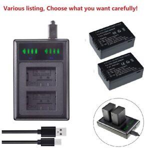 Battery or charger for DMW-BMB9 DMW-BMB9E DMW-BMB9GK BMB9PP PANASONIC DMC-FZ150