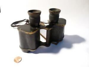 Canada Richard Loftus Fortier OWN 1917 Ross Binoculars North Sea Mine Clearance