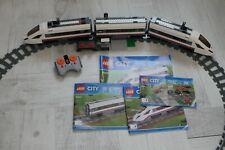 Train Lego City - complet rails et train - quasi neuf - réf 60051