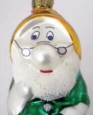 "Whitehurst ""Doc"" Snow White and the 7 Dwarfs Glass Christmas Ornament New Tag"
