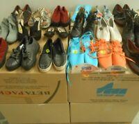 Lot revendeur Palettes Complètes De 180 Paires De Chaussures Neuves Tous Types