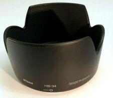 Nikon HB-34 Hood Shade Nikkor AF-S DX 55-200mm F4-5.6G Lens Genuine Original OEM