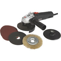 Ironton 4 1/2in. Angle Grinder Kit - 5 Amp 110 Volt 11,000 RPM