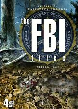 FBI FILES SEASON 4 New Sealed 4 DVD Discovery Channel