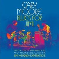 """GARY MOORE """"BLUES FOR JIMI""""  CD NEW!"""
