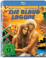 THE BLUE LAGOON [Blu-ray] (1980) Brooke Shields Rare Region Free German Import