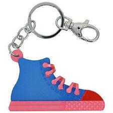 Blue Banana Blue & Pink Trainer Keyring Shoe/Converse/Emo/Chain/Ring/Punk/Skater