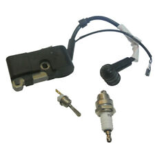 On-Off Stop Switch Ignition Coil Kit W/Spark Plug fit 45cc 5200 58cc Chain Saw