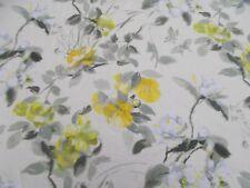 Designers Guild Curtain Fabric 'LISSE' BUTTERMILK 1.3 METRES (130cm) Linen Blend