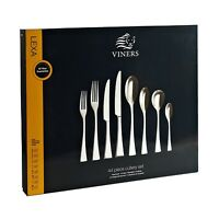 Viners 44-Piece Lexa 18/10 Stainless Steel Cutlery Canteen Set - Gift Boxed
