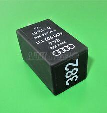 268-Audi VW Black-382 Interior Light Control 4-Pin Relay 4D0907131 EA4 D113-01
