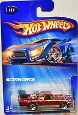 HOT WHEELS 2005 '69 EL CAMINO RED #171