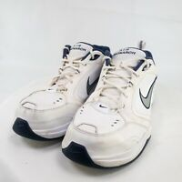 Nike Air Monarch Mens White Lace Up Low Top Athletic Sneaker Shoes Size US 11